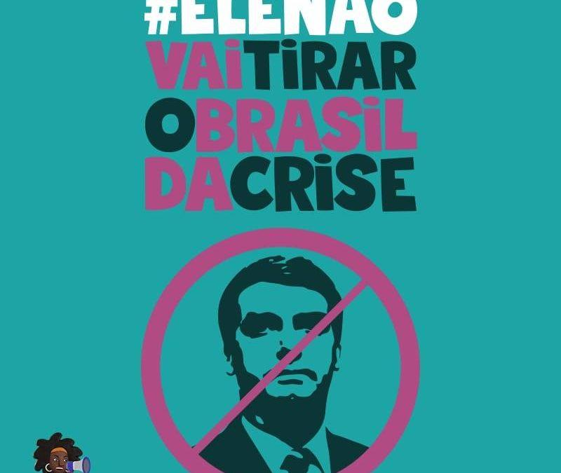 Direitos Valem Mais lança folder e flyer #EleNão com pauta econômica