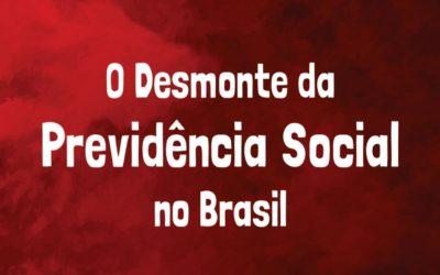 Rede Jubileu Sul lança cartilha popular sobre o desmonte da Previdência Social no Brasil