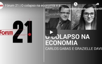 Vídeo   O colapso na economia e a reforma da Previdência   Desmistificando argumentos do governo