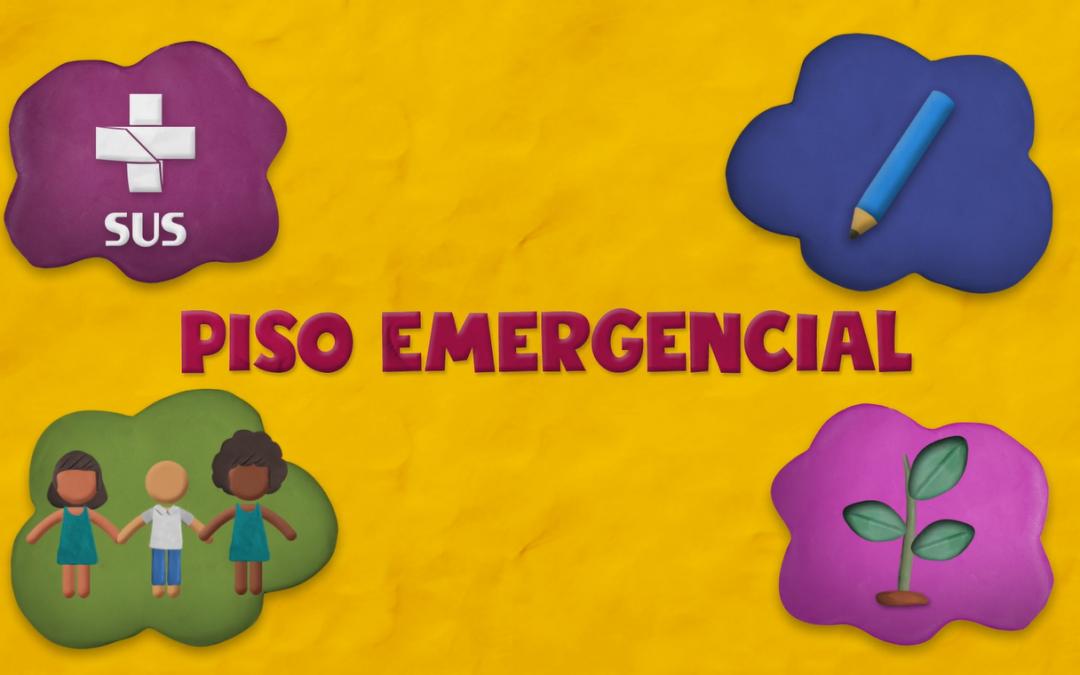 Piso Emergencial no Orçamento: animação explica o conceito que promete proteger a população em 2021