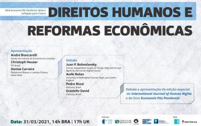 A relação entre os direitos humanos e as reformas econômicas é tema de seminário internacional